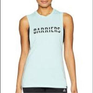 NWT ADIDAS Mint Climalite Barriers Tank Top